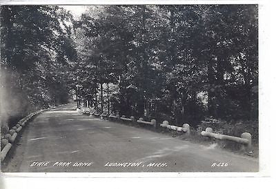 RPPC-State Park Drive-Ludington,Michigan - Cakcollectibles - 1