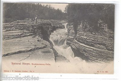 Natural Steps,Montmorency Falls-Quebec UDB - Cakcollectibles
