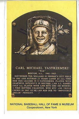 Carl Yastrzemski-National Baseball Hall of Fame & Museum - Cakcollectibles
