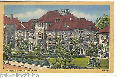 Goucher College-Baltimore,Maryland 1948 - Cakcollectibles