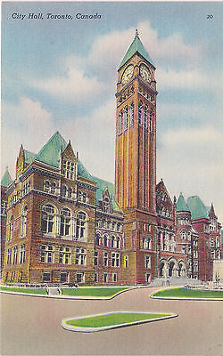 City Hall, Toronto, Canada Postcard - Cakcollectibles - 1