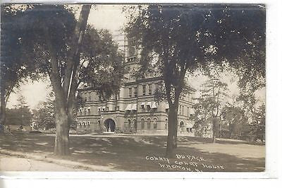 RPPC-Du Page County Court House-Wheaton,Illinois - Cakcollectibles - 1