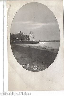Sunset,Stony Point-Fulton,Illinois - Cakcollectibles - 1