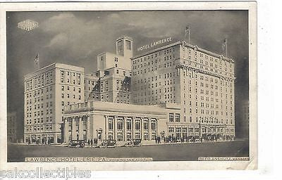 Lawrence Hotel-Erie,Pennsylvania - Cakcollectibles