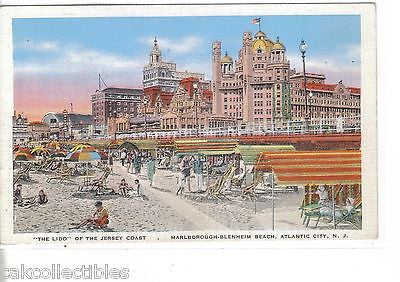 """The Lido"" of The Jersey Coast-Atlantic City,New Jersey - Cakcollectibles"