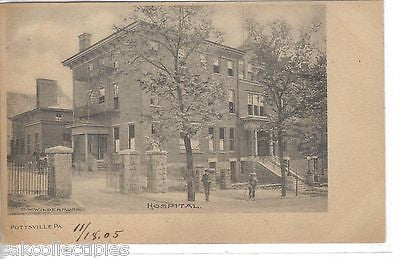 Hospital-Pottsville,Pennsylvania UDB - Cakcollectibles - 1