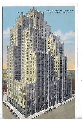 Bell Telephone Building-St. Louis,Missouri - Cakcollectibles