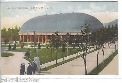 Mormon Tabernacle-Salt Lake City,Utah - Cakcollectibles