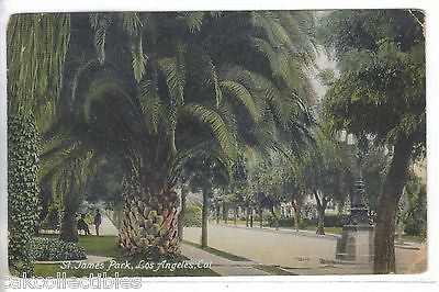 St. James Park-Los Angeles,California 1910 - Cakcollectibles - 1