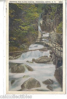 Entering The Flume Canyon-Franconia Notch,New Hampshire - Cakcollectibles