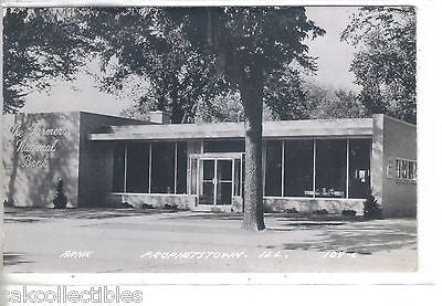 RPPC-The Farmers National Bank-Prophetstown,Illinois 1956 - Cakcollectibles - 1