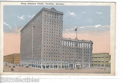 King Edward Hotel-Toronto,Canada - Cakcollectibles
