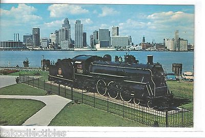 """City of Windsor"" Steam Locomotive-Windsor,Ontario,Canada - Cakcollectibles"