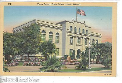 Yuma County Court House-Yuma,Arizona - Cakcollectibles