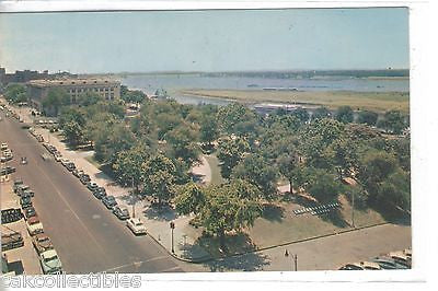 Confederate Park,Post Office & Mississippi River-Memphis,Tennessee - Cakcollectibles