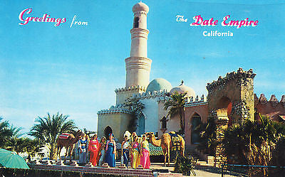 Greetings from Date Empire California Postcard - Cakcollectibles