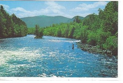 East Branch of The Penoscot River From Matagamon Campground, Maine - Cakcollectibles
