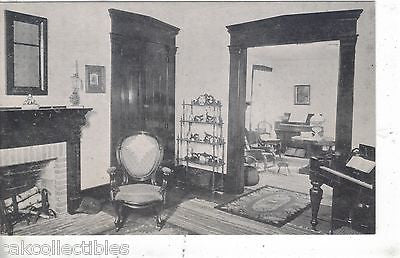 Parlor and Living Room,James Whitcomb Riley Home-Greenfield,Indiana - Cakcollectibles