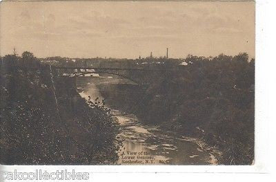 A View of The Lower Genesee-Rochester,New York 1914 - Cakcollectibles - 1