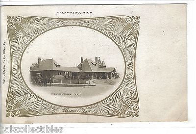 Michigan Central Depot-Kalamazoo,Michigan 1906 - Cakcollectibles - 1