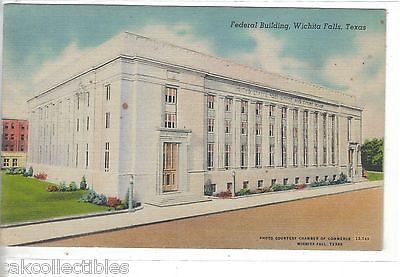 Federal Building-Wichita Falls,Texas - Cakcollectibles
