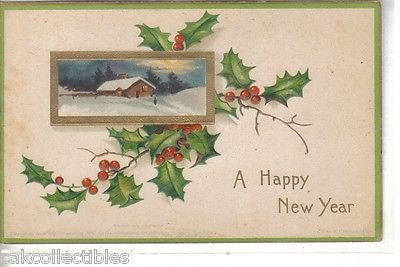 A Happy New Year-Clapsaddle - Cakcollectibles - 1