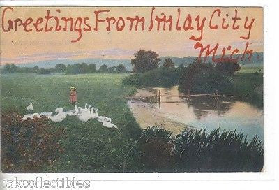 Greetings from Imlay City,Michigan - Cakcollectibles - 1