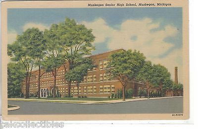 Muskegon Senior High School-Muskegon,Michigan - Cakcollectibles
