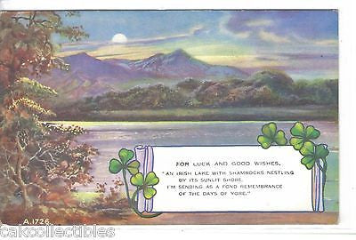 """For Luck and Good Wishes""-Ireland - Cakcollectibles"
