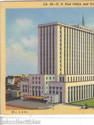 U.S. Post Office,Court House and City Hall-Los Angeles,California - Cakcollectibles
