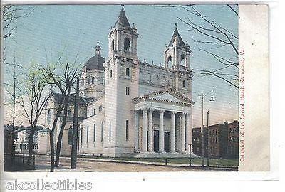 Cathedral of The Sacred Heart-Richmond,Virginia UDB - Cakcollectibles