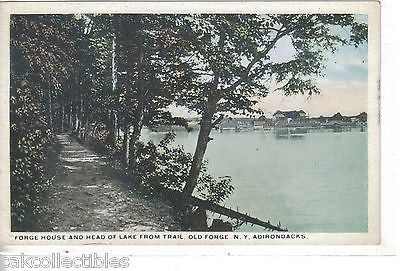 Forge House & Head of Lake from Trail-Old Forge,New York - Cakcollectibles