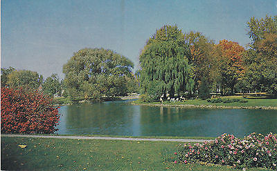 Beautiful Wellington Park Simcoe, Ontario, Canada Postcard - Cakcollectibles - 1