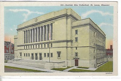 Scottish Rite Cathedral-St. Louis,Missouri - Cakcollectibles