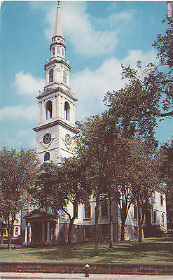 First Baptist Church Providence R.I. Postcard - Cakcollectibles - 1