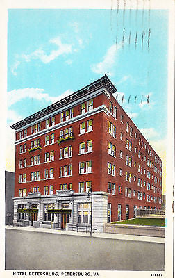 Hotel Petersburg Virginia Postcard - Cakcollectibles