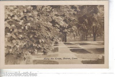 Along The Green-Sharon,Connecticut - Cakcollectibles