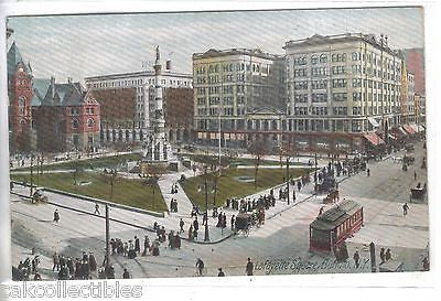 Lafayette Square-Buffalo,New York 1907 - Cakcollectibles