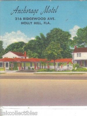Anchorage Motel-Holly Hill,Florida - Cakcollectibles