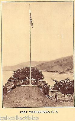 Flag Pole, Fort Ticonderaga-New York - Cakcollectibles