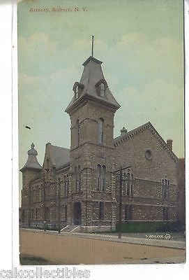 Armory-Auburn,New York 1921 - Cakcollectibles