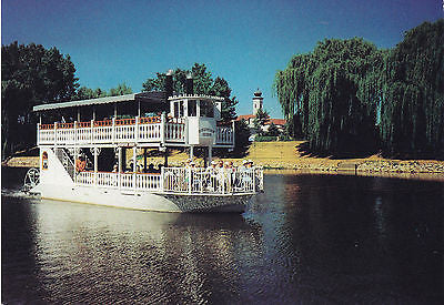 Frankenmuth Riverboat Tours - Frankenmuth, Michigan Postcard - Cakcollectibles - 1