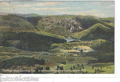 Fairfield from Chimney Top-Western North Carolina - Cakcollectibles