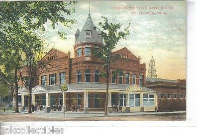 The Clementine Bath House-Mt. Clemens,Michigan 1911 - Cakcollectibles - 1
