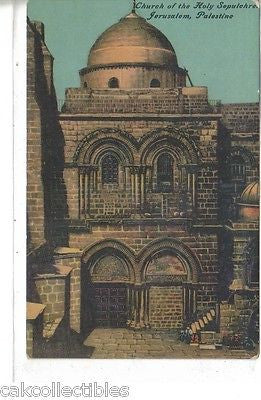 Church of The Holy Sepulchre-Jerusalem,Palestine - Cakcollectibles