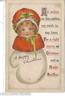 Merry Christmas Post Card-Irene Marsellus 1913 - Cakcollectibles - 1