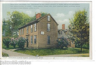 Hancock-Clarke House-Lexington,Massachusetts - Cakcollectibles
