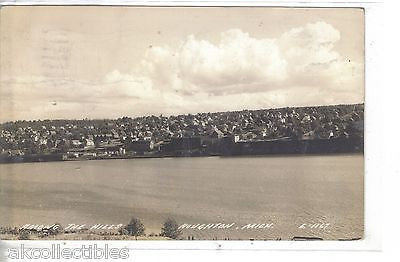 RPPC-Among The Hills-Houghton,Michigan 1945 - Cakcollectibles - 1