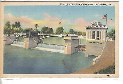 Municipal Dam and Power Plant-Fort Wayne,Indiana - Cakcollectibles