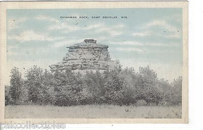 Chinaman Rock-Camp Douglas,Wisconsin 1944 - Cakcollectibles